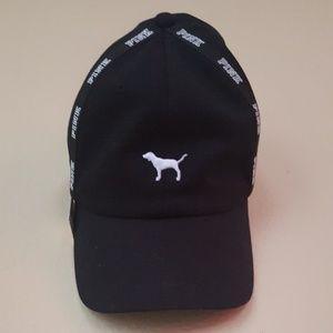 Black & White PINK sporty hat BRANDNEW